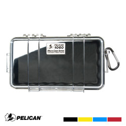 Pelican 1060 Micro Case with Carabiner - Waterproof, Crushproof, and Dustproof