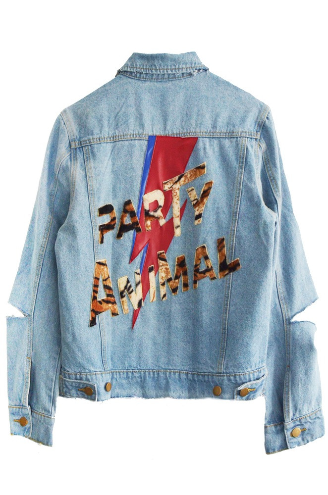 NATURAL DENIM - BACK