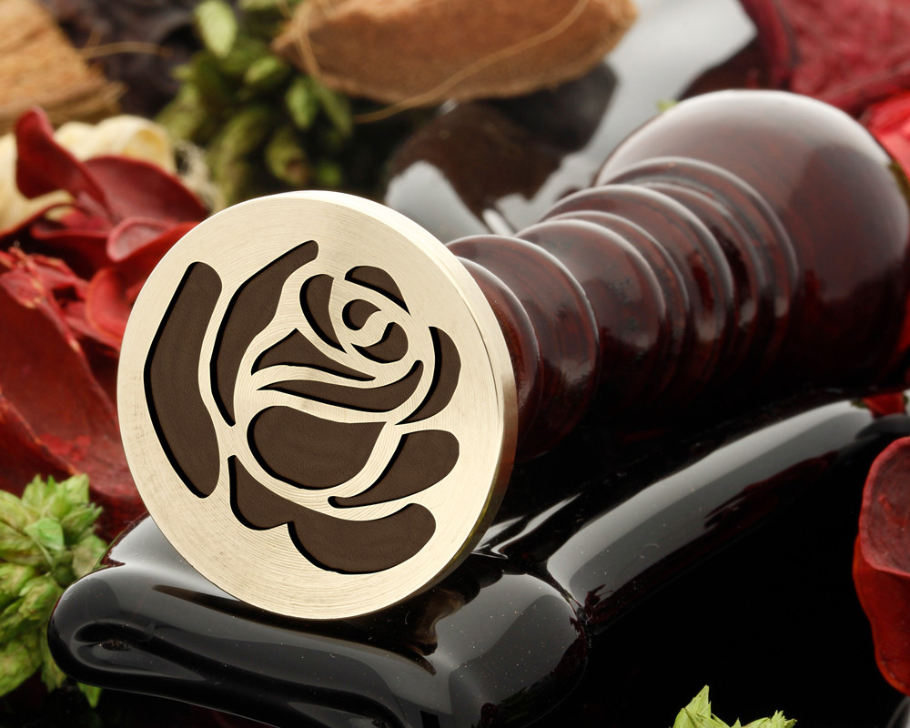 Rose 9 wax seal