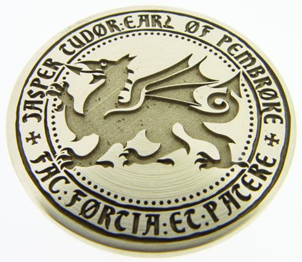 Designed for the BBC  'Jasper Tudor Earl of Pembroke' design (photo flipped). © The Design Station Ltd.