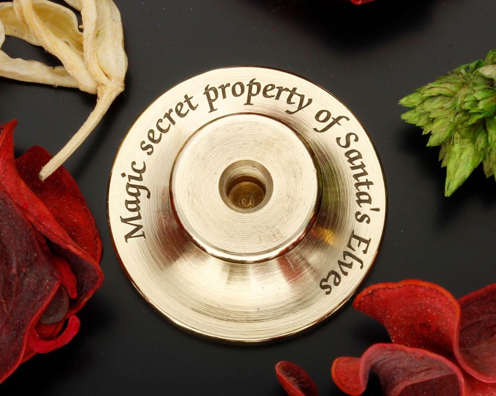Secret Message idea - Magic secret property of Santa's Elves