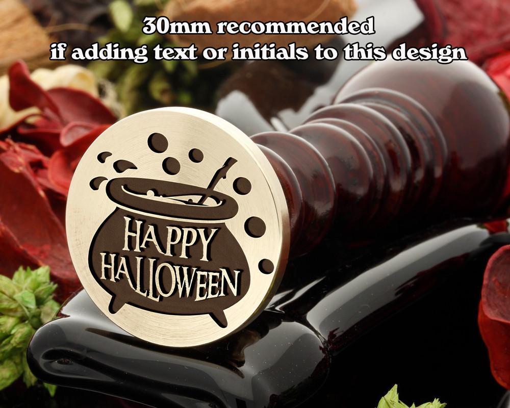 Happy Halloween Witches Cauldron Wax Seal