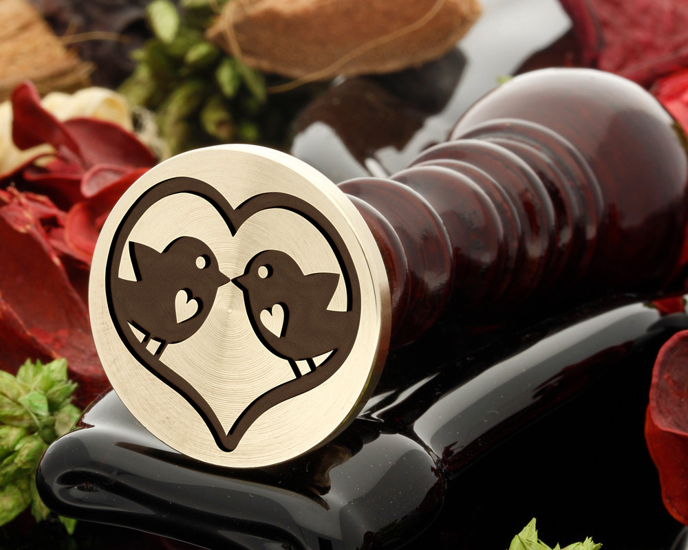 Love Birds Wax Seal