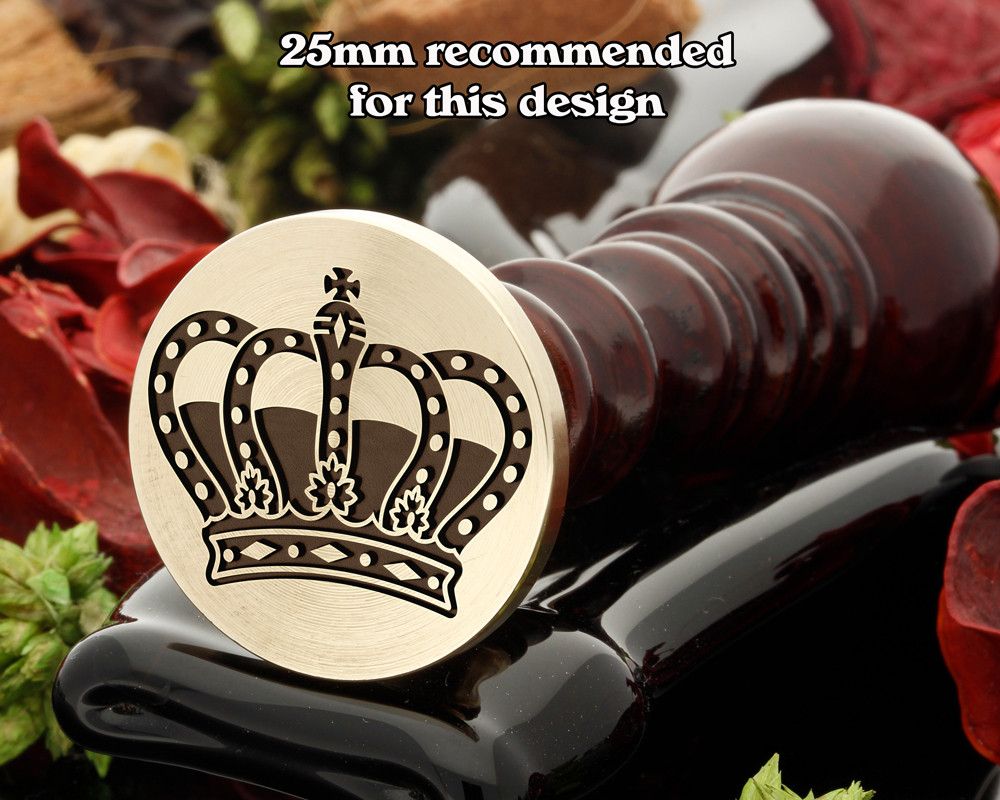 Crown 19 wax seal