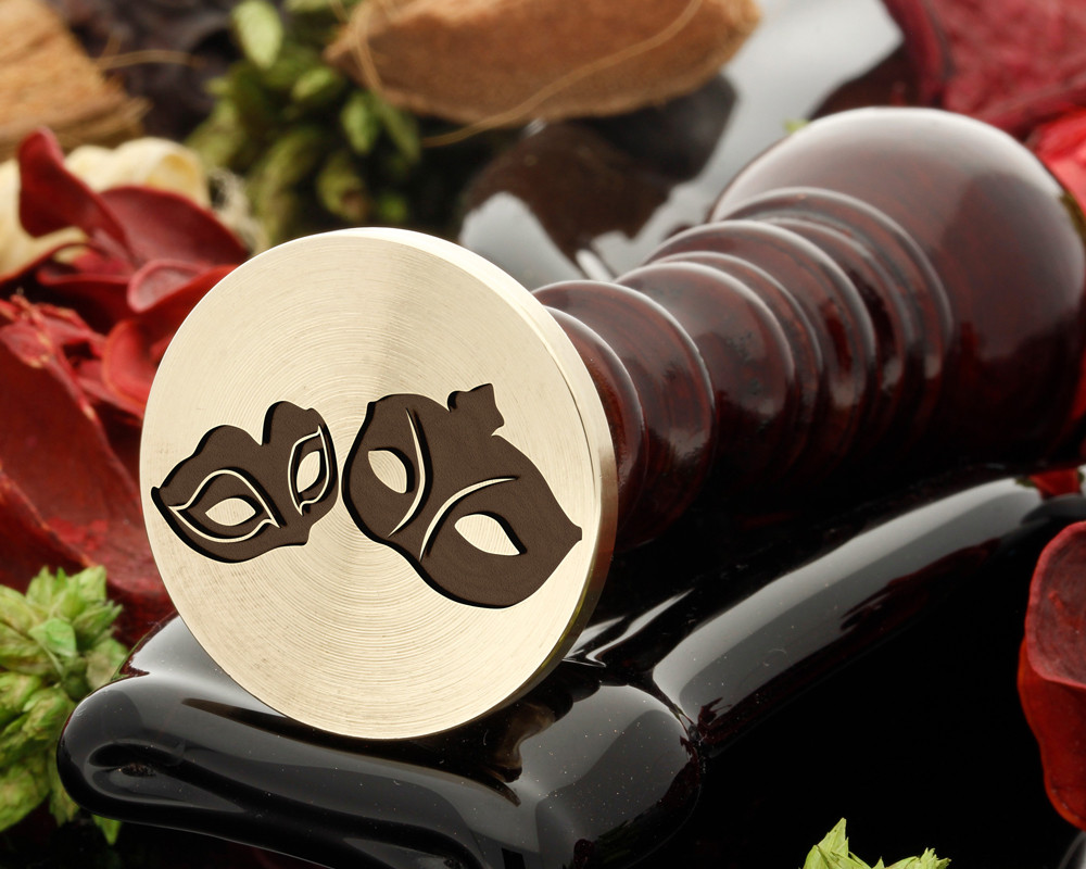 Couples Mask Wax Seal