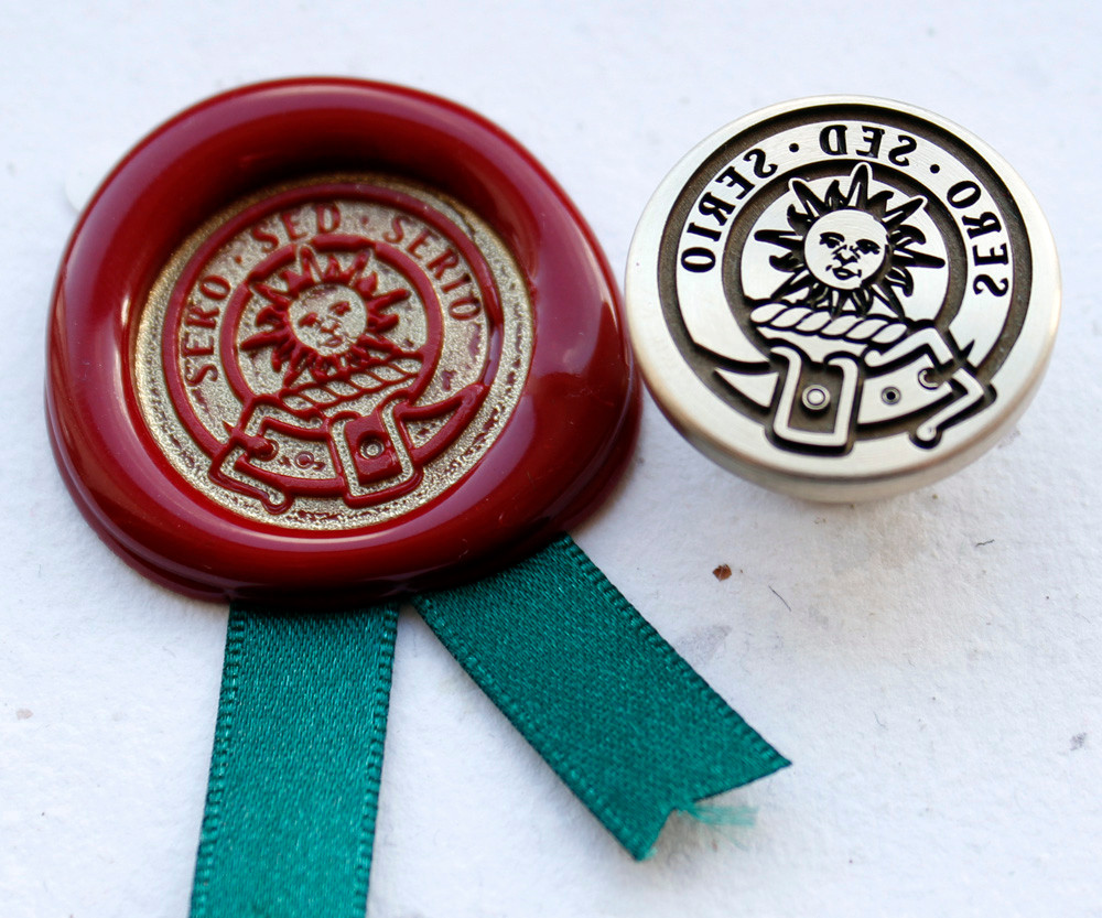 Bain Scottish Clan Wax Seal