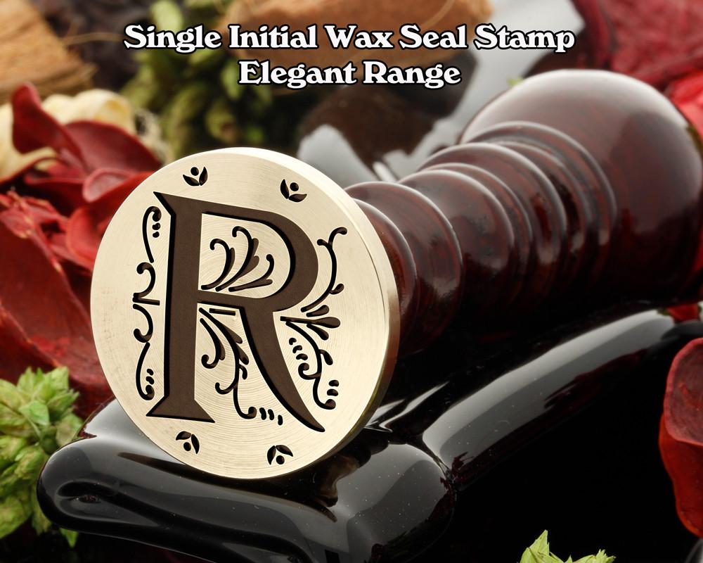 Elegant Range Wax Seal Initial R