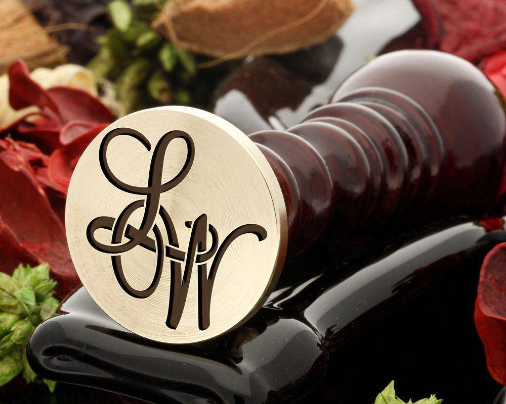 LW Wax Seal Monogram (photo reversed)