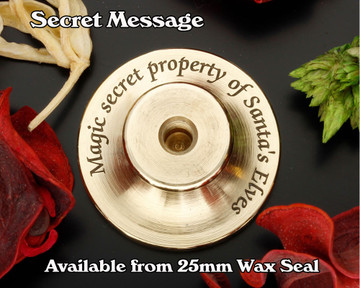 Witches Hat Trick or Treat D2 Wax Seal