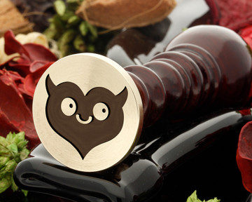 Devil Heart Wax Seal Stamp