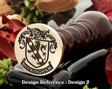 Buckingham Family Crest D2