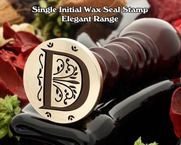 Elegant Range Wax Seal Initial D
