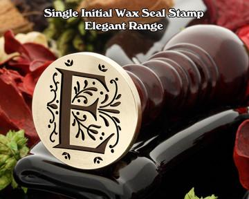 Elegant Range Wax Seal Initial E