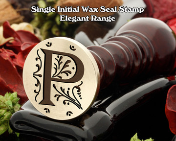 Elegant Range Wax Seal Initial P