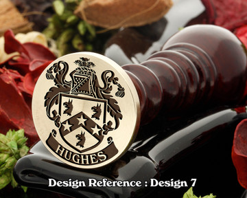 Hughes (Ireland) Family Crest D7