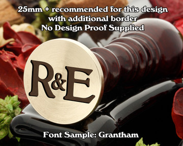 Grantham Initial Wax Seal example R&E