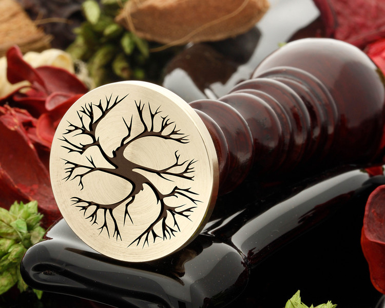 Tree 4 wax seal