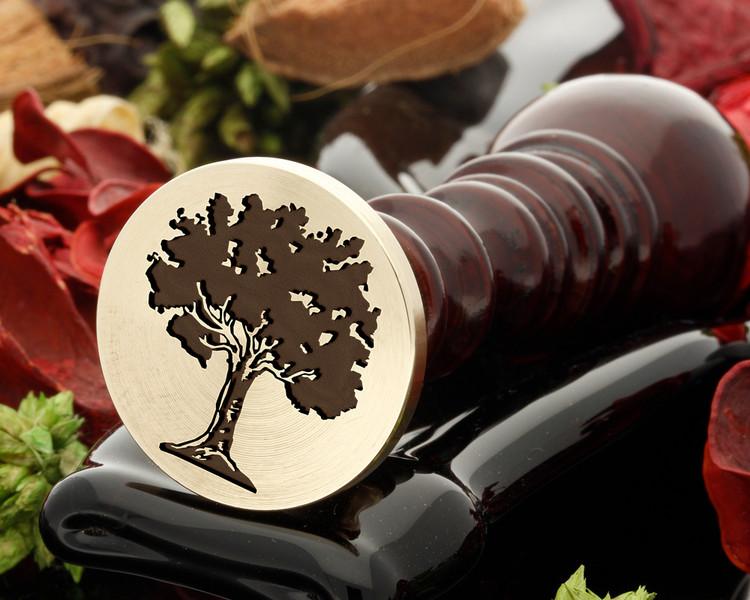 Tree 8 wax seal