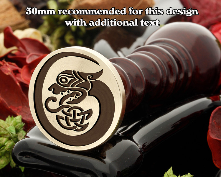 Celtic D17 Wax Seal Stamp