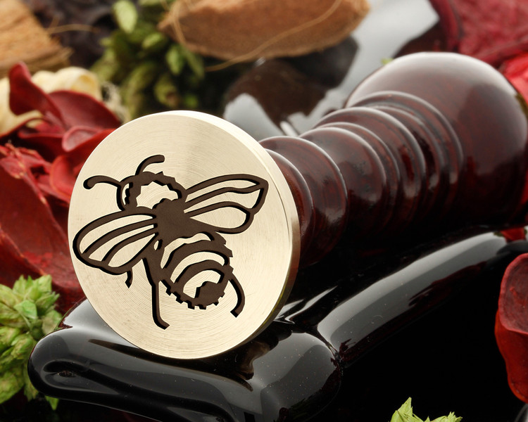 Bee D4 wax seal ( antique handle shown)