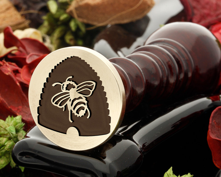 Bee Hive wax seal
