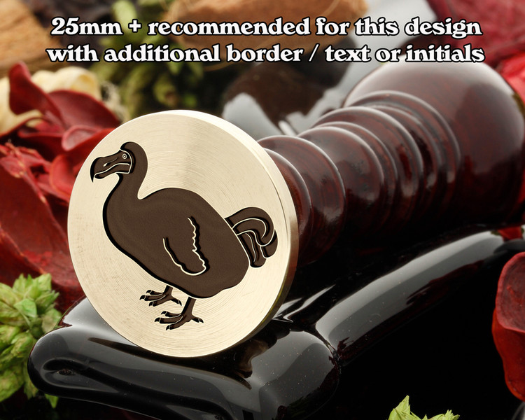 Dodo Wax Seal Stamp