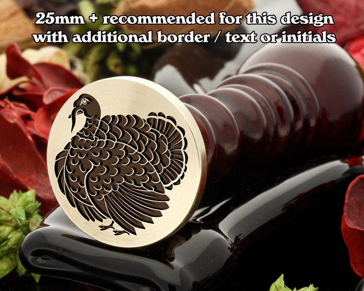 Turkey Wax Seal Stamp