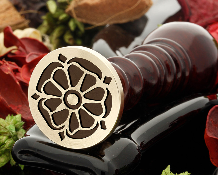 Tudor rose 2 wax seal