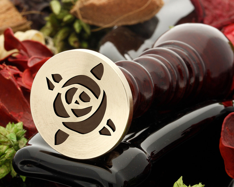 Rose 13 wax seal