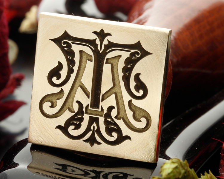 Design 2 - suitable for round or square stamp