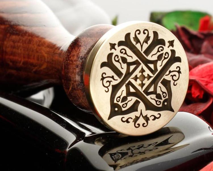 Victorian Wax Seal UU design 1