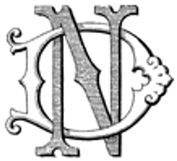 DN ND VICTORIAN MONOGRAMS Wax Seal Stamp from 25mm
