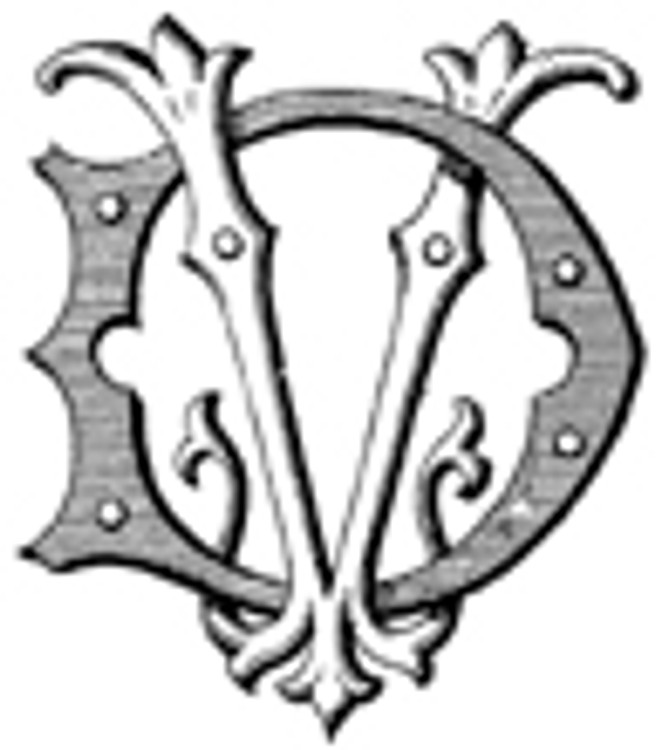 DV VD VICTORIAN MONOGRAMS Wax Seal Stamp from 25mm