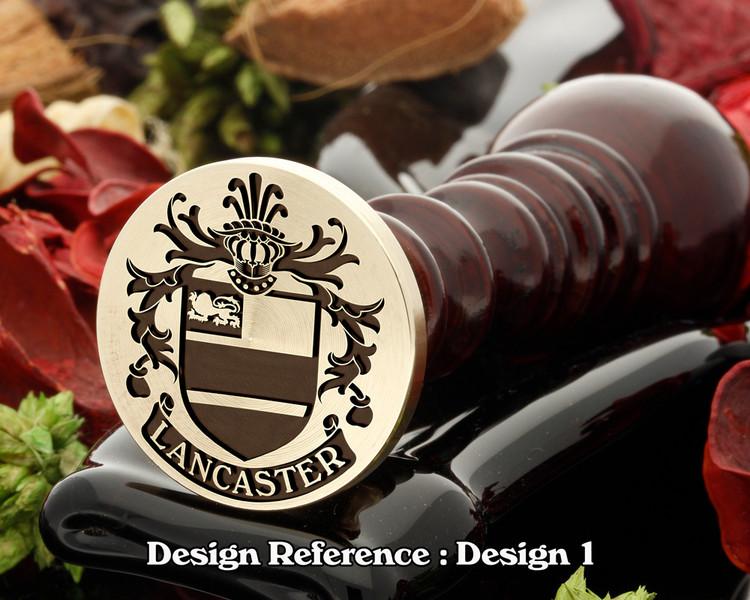Lancaster Family Crest D1