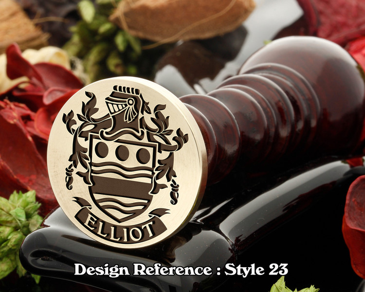 Elliot Family Crest Wax Seal D23