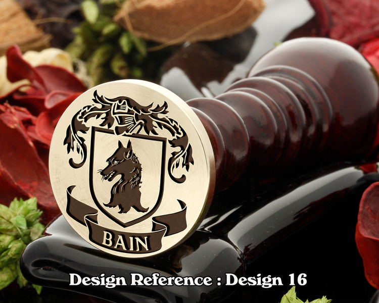 Bain Family Crest D16