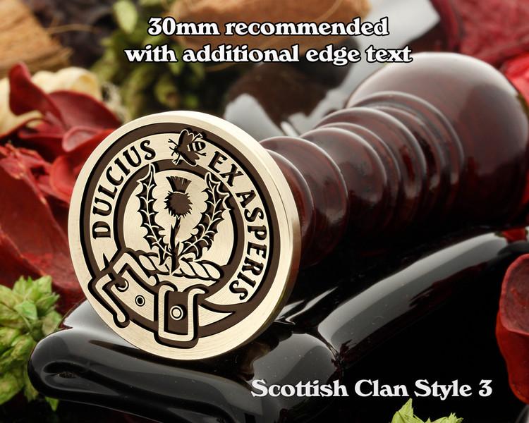 Fergusson Scottish Clan Wax Seal