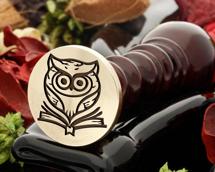 Owl 8 wax seal