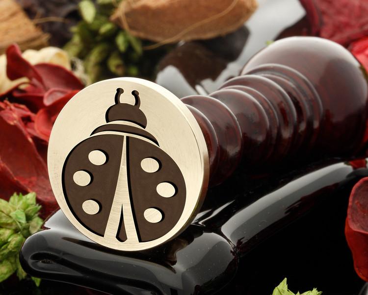 Ladybird wax seal stamp
