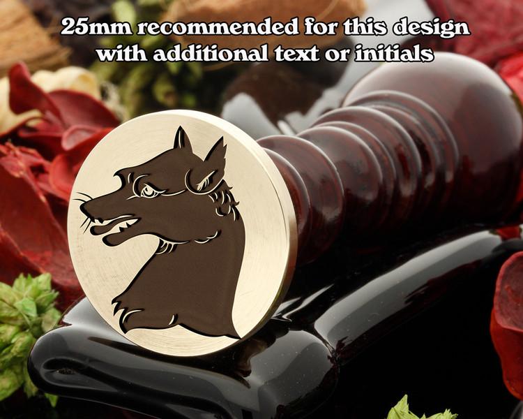 Heraldry Fox Wax Seal Stamp D4