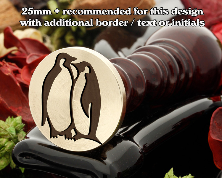 Love Penguins Wax Seal