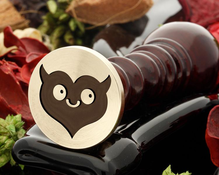 Devil Heart Wax Seal Stamp