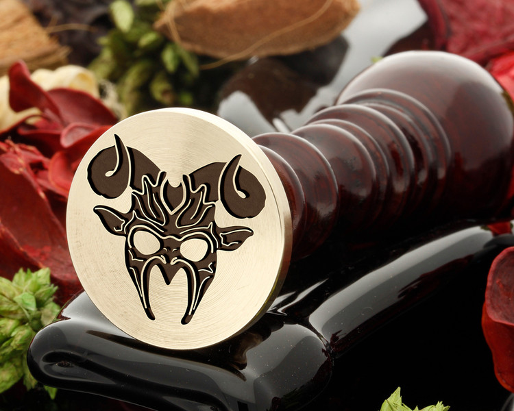 Horns Mask Wax Seal