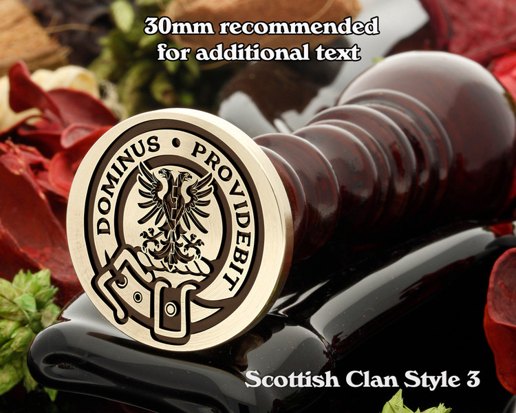 Boyle Scottish Clan Wax Seal D3
