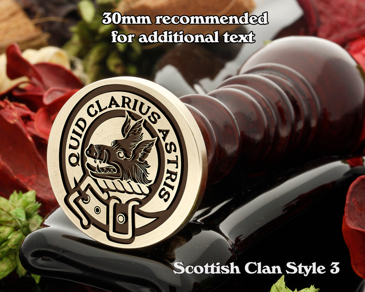 Baillie Scottish Clan Wax Seal D3