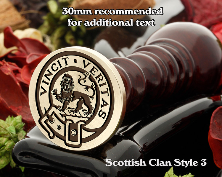 Baxter Scottish Clan Wax Seal D3