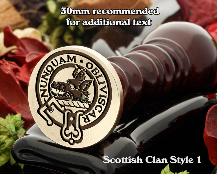 MacIver Scottish Clan Wax Seal D1