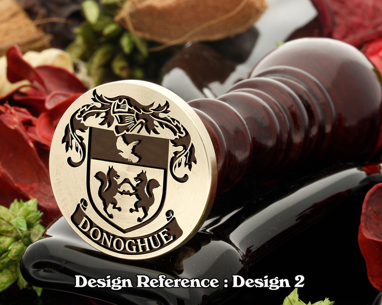 Donoghue Family Crest Wax Seal D2