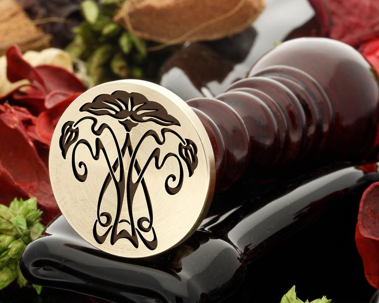 Art Deco Design 16 wax seal