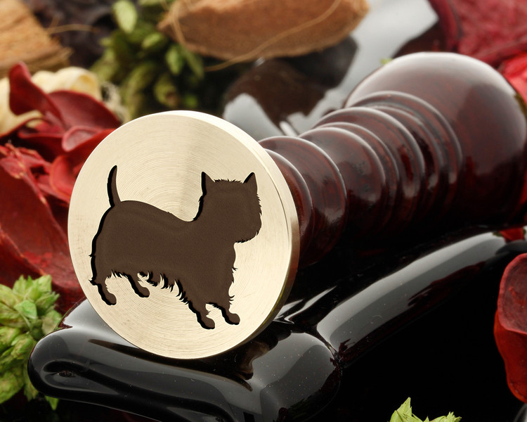 Westie dog wax seal